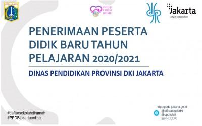 TIME SCHEDULE PPDB DKI JAKARTA TAHUN 2020