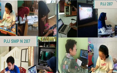 Pembelajaran Daring SMPN 287 Jakarta Selama Masa Darurat COVID 19