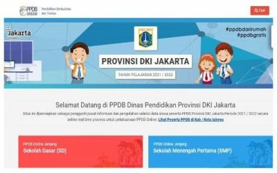 PPDB Online DKI Jakarta 2021 (Jadwal dan Teknis)